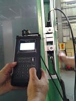 portable flow meter untuk mengecek aliran coolent
