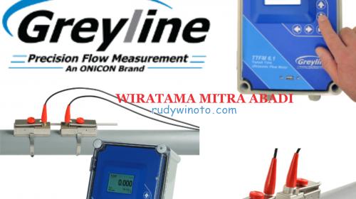 Greyline clamp on flow meter