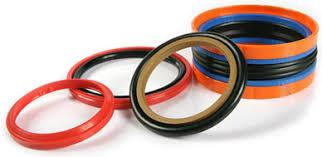 Piston rod wiper cylinder seal