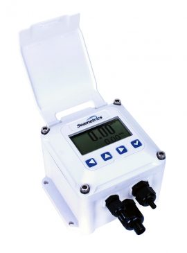 Seametrics-ft400-series- rate and totalizer indicator
