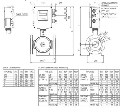 Fuji - FST Spool Piece Ultrasonic Flowmeter