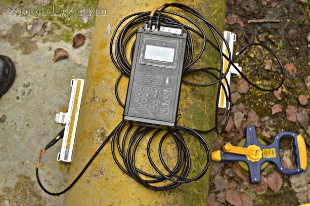 Sitelab portable ultrasonic flow meter
