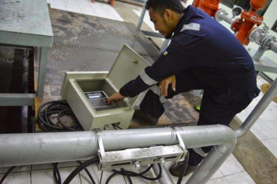 Sitelab Sl1188 Ultrasonic flow meter setting