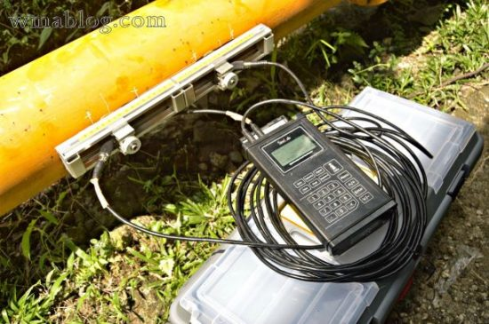 Portable Ultrasonic Flow Meter Sitelab