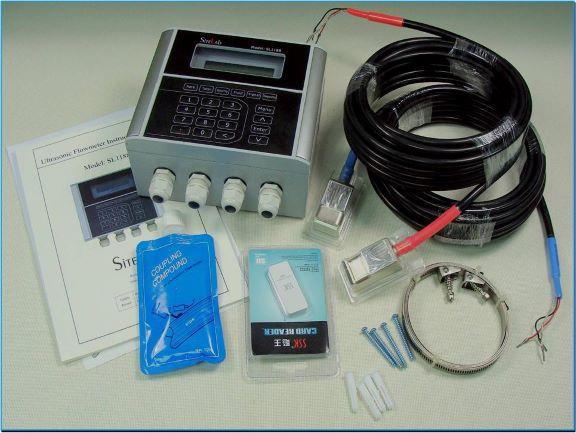 Sitelab ultrasonic clamp on flow meter