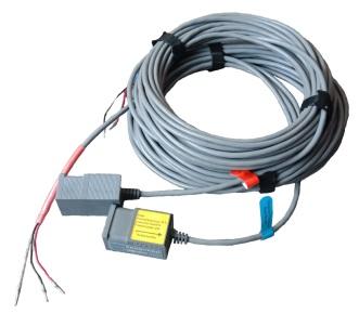 Sensor ultrasonic clamp on flow meter