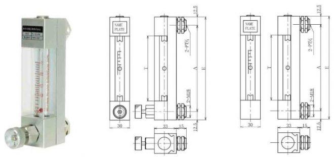 Ryuki FLO-LP-4DV Small purge meter