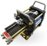 flexible air-driven gas booster haskel