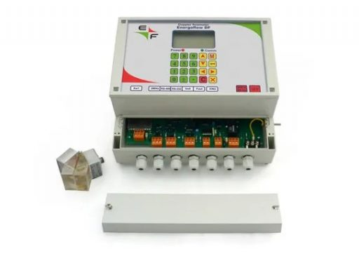 DOPPLER FLOW METER with clamp-on sensors Energoflow