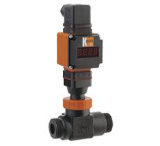 Kobold DRS Turbine Wheel Flow Meter/Monitor