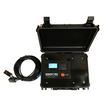 UltraFlo™ UFD3 Ultrasonic Clamp-On Flow Meter