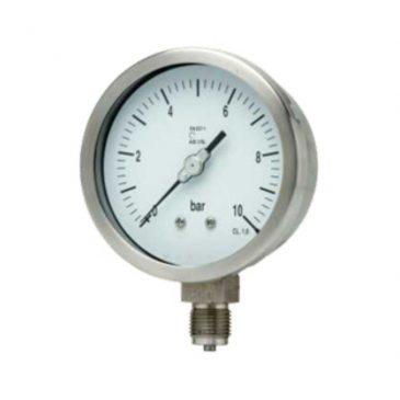 Bourdon Tube Pressure Gauge P101