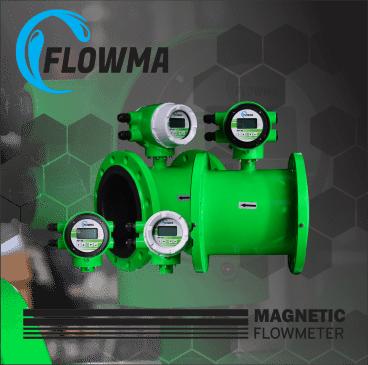 magnetic flow meter flowma
