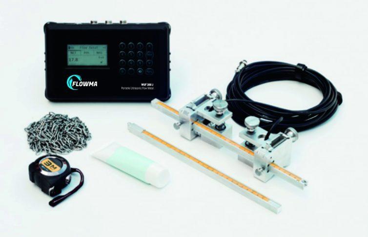 Portable Flowmeter Ultrasonic Flowma WUF 300J